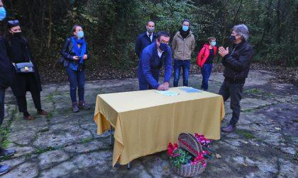 L'ex Polveriera di Monte Arzan torna in vita grazie ai volontari: firmato il patto di sussidiarietà