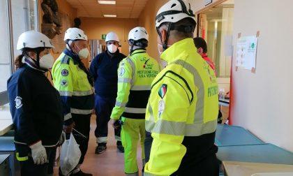 Volontari A.N.A Verona a Noale per il ripristino dell'ospedale dismesso – Gallery