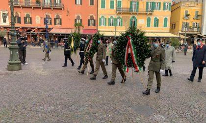 In Piazza Bra le celebrazioni per la Festa dell'Unità Nazionale e la Giornata delle Forze Armate