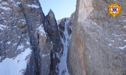 Alpinista 54enne colta da un malore sulla Cima dei Bureloni, soccorsa con l'elicottero