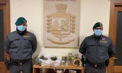 Fermato a piedi a Veronetta a pochi minuti dal coprifuoco: in casa nascondeva della marijuana