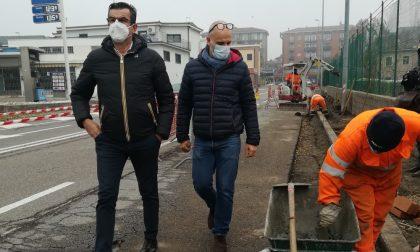 Pedoni in sicurezza, allargato il marciapiede tra via Torbido e corso Venezia