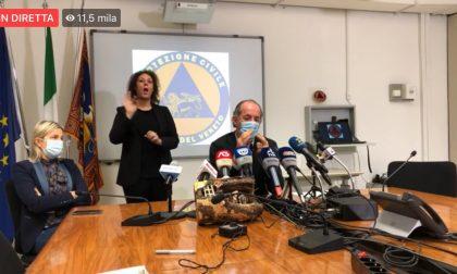 """Covid, Zaia: """"Dal 24 dicembre decade l'ordinanza regionale""""   +3834 positivi   Dati 19 dicembre 2020"""