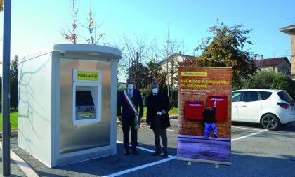 Inaugurato a Sandrà un nuovo sportello ATM Postamat