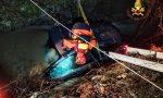 Badia Calavena, auto cade nel torrente: vivo per miracolo il conducente – VIDEO