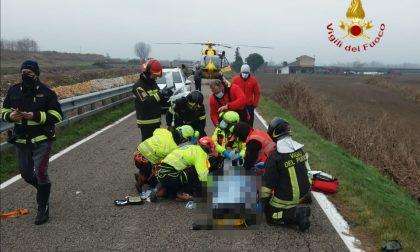 Grave incidente a Belfiore: scontro tra due auto, morto un 80enne e ferito un 48enne