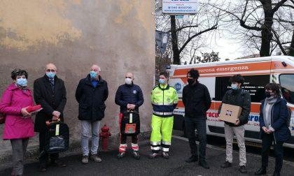 Croce Bianca e Fondazione Modena, nell'anno del Covid non fermano la consegna dei DAE