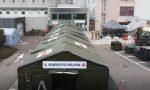 Il 3 Stormo ha installato a Legnago il punto medico avanzato FOTO E VIDEO