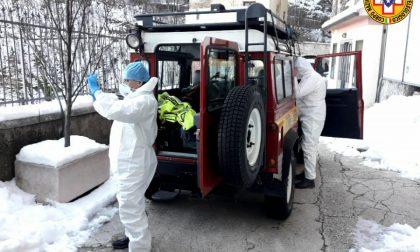 La neve blocca l'ambulanza diretta al Santuario di Madonna della Corona, interviene il soccorso Alpino