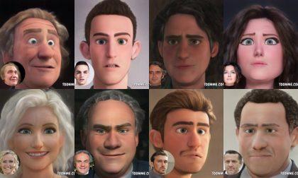 Personaggi famosi di Verona: come sarebbero in versione cartoon