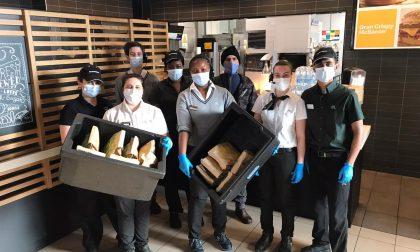 McDonald's e Banco Alimentare Veneto doneranno 400 pasti caldi a settimana fino a fine marzo