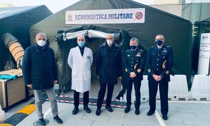 Mater Salutis Legnago, inaugurato il Punto medico avanzato montato dal Terzo Stormo di Villafranca – GALLERY