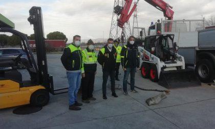 Verona in aiuto a Comelico, inviati i mezzi per pulizia dalla neve e riapertura strade montane