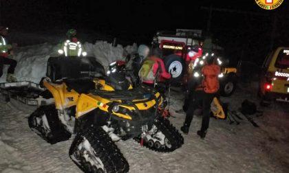 Tre escursionisti in difficoltà sul Passo del Cerbiolo, soccorsi nella notte
