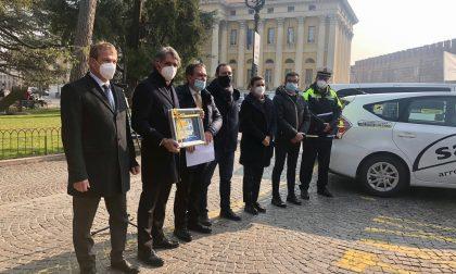 """L'Unione Radiotaxi Verona compie 50 anni, Sboarina: """"Avete contribuito alla crescita della città"""""""