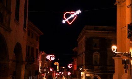 Nel weekend di San Valentino, Soave si illumina con i colori dell'amore