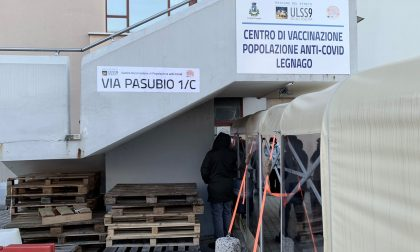 Iniziate all'ex OIP di Legnago le vaccinazioni anti-Covid per gli over 80