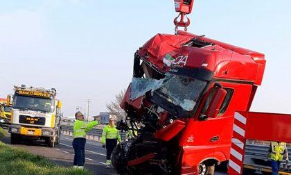 Riaperta al traffico la carreggiata per Verona sulla 434 dopo l'incidente a Isola Rizza