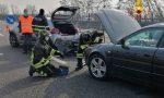 Tamponamento tra due mezzi pesanti e due auto sull'A4, un ferito grave