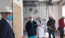 Lavori al Magalini: ulteriori 10 posti di terapia intensiva e 22 posti letto di sub-intensiva
