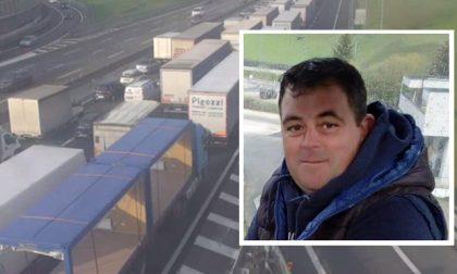 Tragico incidente in A4: è Ugo il camionista morto nello schianto