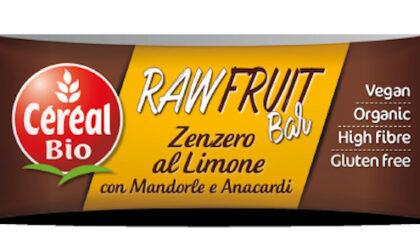 Richiamo per i Céréal BIO Raw Bar zenzero al limone: presenza di ossido di etilene