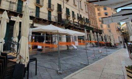 Caduta frammenti in Piazza Erbe: verifiche straordinarie sulla Torre dei Lamberti