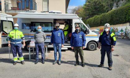 Oltre 140 volontari Protezione Civile ANA al lavoro per rimettere in sicurezza il parco del Don Calabria