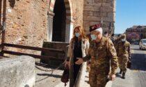 Donazzan in visita al Comando delle Forze Operative Terrestri di supporto