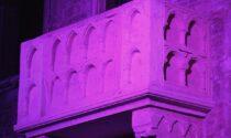 Il Giro d'Italia ha colorato di rosa il balcone di Giulietta per una notte