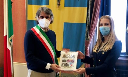 Sboarina ha ricevuto in municipio il console generale della Bulgaria, Tanya Dimitrova