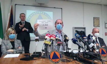 """Covid, Zaia: """"Rt 0,96 e incidenza 160,3 ma preoccupano le terapie intensive""""  +1241 positivi   Dati 8 aprile 2021"""