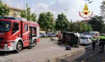 Raffica di incidenti a Verona, ben cinque nell'arco di un'ora e mezza