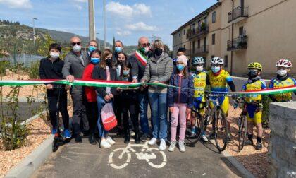 Inaugurato il nuovo percorso ciclopedonale che unisce Grezzana a Stallavena