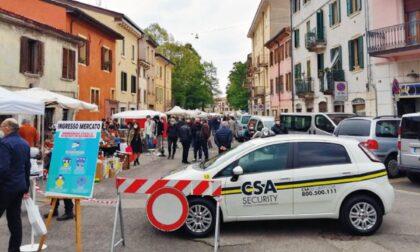 Verona Antiquaria in sicurezza con personale di vigilanza ai varchi d'accesso