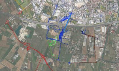 Rivoluzione della viabilità attorno all'ex Biasi: nuove strade, rotonde e innesto alla tangenziale