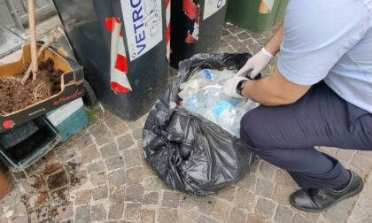 Rifiuti abbandonati a Legnago: sanzionate 15 persone in 5 mesi