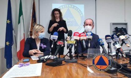 """Covid, Zaia: """"Da lunedì apriamo le vaccinazioni ai 40enni""""   +493 positivi   Dati 12 maggio 2021"""