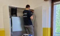 Alla scuola primaria di Volon si respira aria pulita grazie alla ventilazione meccanica controllata