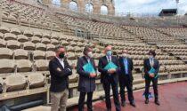I restauri dell'Arena dal Rinascimento ad oggi raccontati in un libro