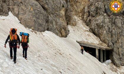 Tre ragazze veronesi bloccate sul Pasubio salvate dal Soccorso Alpino: non erano attrezzate