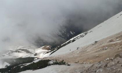 Il video della valanga sul Carega, 10 escursionisti sono riusciti a fuggire