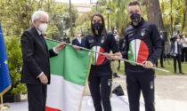 """Olimpiadi a Tokyo, consegnato il tricolore a Elia Viviani: """"Un vero onore"""""""
