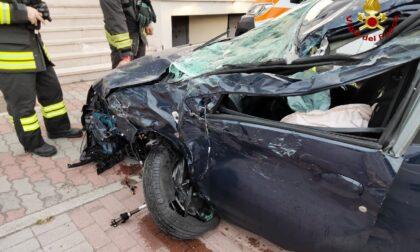 Incidente a Villafranca: scontro tra un'auto e un mezzo pesante