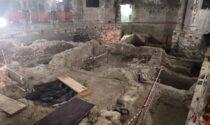 """Le foto dei resti della """"piccola Pompei"""" scoperta sotto all'ex cinema a Verona"""