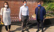 A Parona installazione di due nuove griglie per la raccolta e il deflusso delle acque piovane