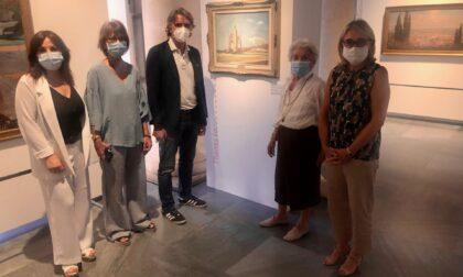"""Inaugurato alla Gam lo spazio espositivo """"Thanks to"""", in mostra anche l'opera di Vitturi"""