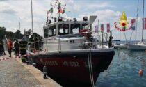 Più sicurezza sul Garda con la nuova imbarcazione antincendio dei Vigili del Fuoco