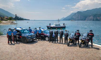 Estate più sicura sul Garda con i Carabinieri motociclisti