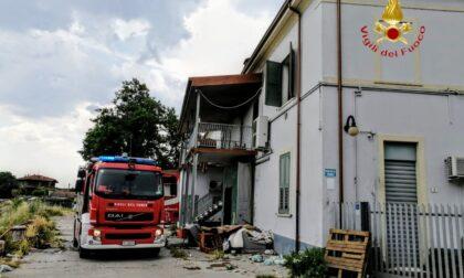 Incendio a Verona in un edificio diventato rifugio di fortuna di senzatetto